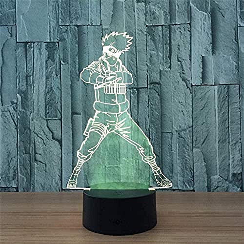 Image 3D Slide Light Led Changement De Couleur Usb Night Light Action Character Animation Toy