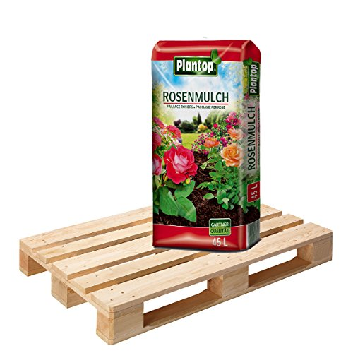Plantop Rosenmulch 45 Sack á 45 Liter = 2025 Liter Mulch