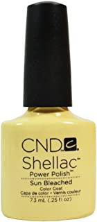 CND Shellac, Gel de manicura y pedicura (Tono Sun Bleached) - 7.3 ml.