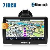 7' GPS Voiture Auto - Cartographie Europe 52 Pays à Vie - GPS Bluetooth 7 Pouces Ecran Tactile Haute Luminosité avec Dispositif...