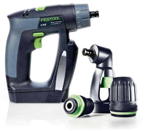 Festool 564274 CXS Compact Drill Driver Set With Right Angle Chuck