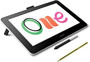 Wacom One Digital Drawing Tablet with Staedtler Noris Digital EMR Stylus in Pencil Shape for Art and Animation Beginners