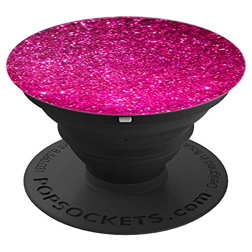 Pink Phone Holder Knob For Women And Girls PopSockets Grip and Stand for Phones and Tablets