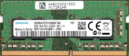 Samsung 8GB DDR4 PC4-19200, 2400MHz, 260 PIN SODIMM, Dual Ranked CL 17, 1.2V, ram Memory Module