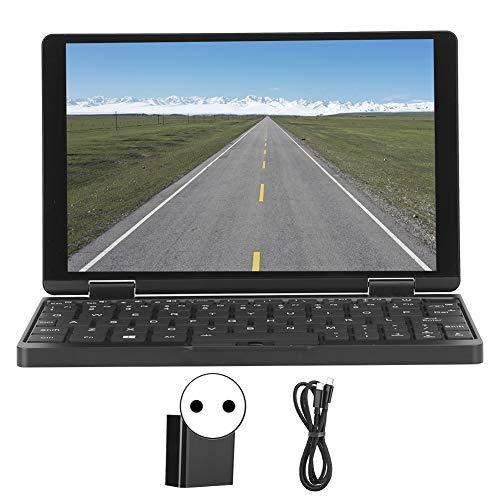 Computadora portátil de 8.4 pulgadas,ultradelgada y liviana,pantalla capacitiva IPS LED HD de 8.4 pulgadas,CPU 8GB RAM 256GB, para Intel Core M3 8100Y,sistema operativo Windows 10,WIFI de doble(Negro)