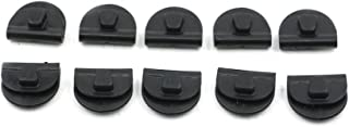 Alpha Rider 10 pcs Black Power Battery Left Side Cover Clips Supply for Harley Sportster XL883 XL1200 2004-2017