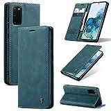 Sacchetto del telefono portatile For custodia for portafoglio in pelle PU Samsung Galaxy S20 PU, 2 in 1 flip con portafoglio con portafoglio con portafoglio con portafoglio, pelle morbida opaca + cust