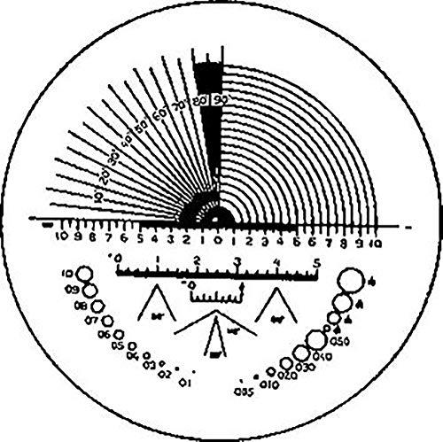 ESCHENBACH OPTIK GMBH & CO. 115203 Präzisionsskala 203 f.Skalenlupe f.851494/495 ESCHENBACH