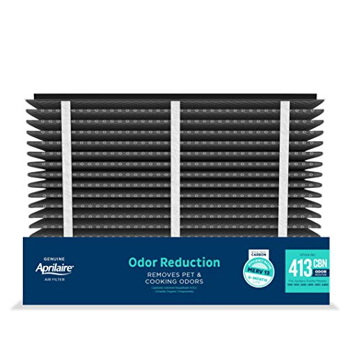 Aprilaire - 413CA2 413CBN Replacement Air Filter for Whole Home Air Purifiers, Healthy Home + Odor Reduction Filter, MERV 13, (Pack of 2)