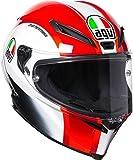 AGV Moto Casco Corsa R E2205Réplica plk, sic58Rojo, tamaño MS