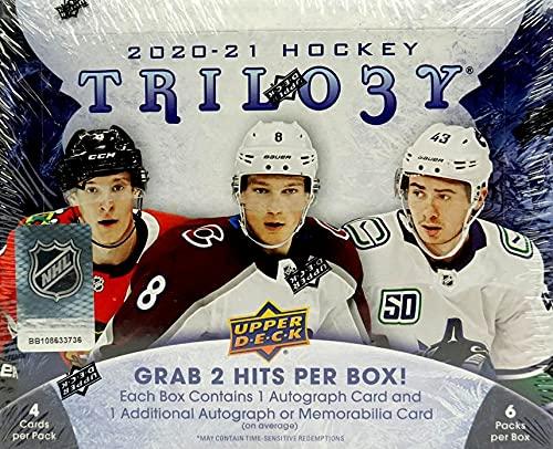 Upper Deck 2020/21 Trilogy Hockey Hobby Box NHL