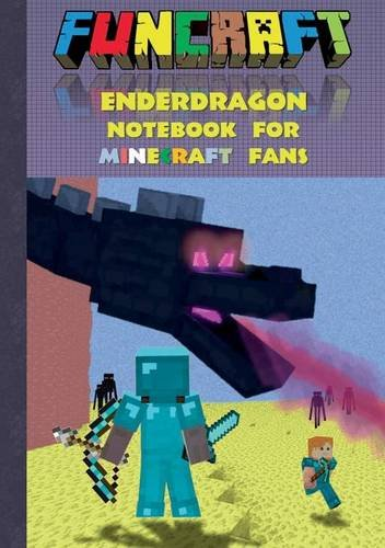 Funcraft - Enderdragon Notebook for Minecraft Fans (Quad Paper)