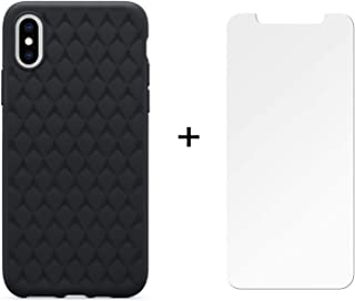 OtterBox Bundle - OtterBox Ultra Slim Firm Flexible Case for iPhone X and iPhone Xs with Alpha Glass Screen Protector - Retail Packaging - Black