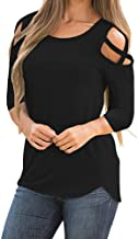 COPPEN Women Blouse Winter Long Sleeve Solid Sweatshirt Pullover Tops Blouse Shirt