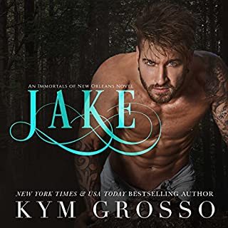 Jake     Immortals of New Orleans, Book 8              By:                                                                                                                                 Kym Grosso                               Narrated by:                                                                                                                                 Ryan West                      Length: 12 hrs and 45 mins     343 ratings     Overall 4.7