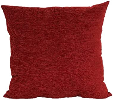Brentwood 3438 Crown Chenille, 24x24, Red