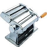 DEVZA Manual Stainless Steel Lasagna Tagliatelle Fettuccine Spaghetti Pasta Noodle Maker Machine