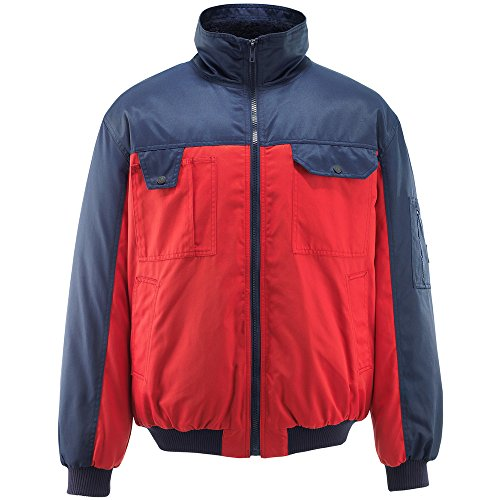 Mascot 00922-620-21-4XL jas pilotenjas Bolzano maat 4XL in rood/marineblauw