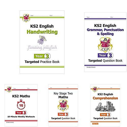 Year 3 Catch-Up Essentials: Workbook Bundle - Ages 7-8