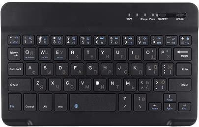 Kabellose Bluetooth-Tastatur Ultraflache leicht zu tragende Stummschalttastatur f r Handys PC Laptop Schätzpreis : 6,65 €