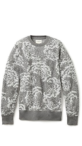 Obey Pullover Cranford Sweater Grey