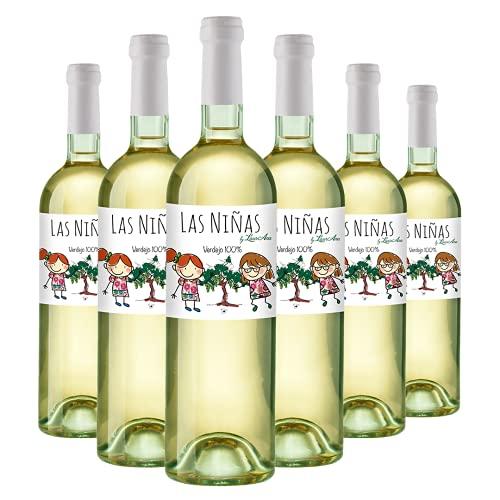 LAS NIÑAS - Vino Blanco Verdejo - Vino de la Tierra de Castilla- 6 botellas x 750 ml