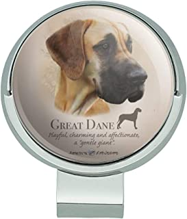 GRAPHICS & MORE Great Dane Dog Breed Golf Hat Clip with Magnetic Ball Marker