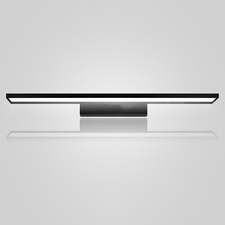 Spiegel - scheinwerfer Acryl LED Wasserdichte Spiegel Front Licht Badezimmer Spiegel Schrank Schminktisch Lampen Toiletten Wandleuchte licht im bad (Farbe   Schwarz-Wei-Licht-40cm-9W)