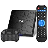 Android TV Box, T9 Android 9.0 TV Box con Mini Teclado inalámbrico...