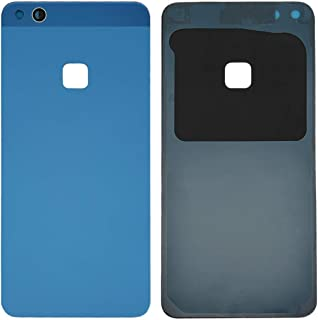 YINUOcellphonepart For Huawei P10 lite Battery Back Cover(Black)(Gold)(Blue)(White) (Color : Blue)