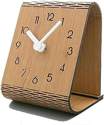 CLHXZE Reloj De Mesa Retro Tabla Manto Reloj Reloj de Escritorio ...