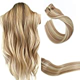 Best Clip In Hair Extensions - Balayage Clip in Hair Extensions #12 to Bleach Review