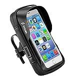 VOANZO Bolsa de Bicicleta, Bolsa de Soporte para teléfono móvil a Prueba de Agua, Accesorios para Equipos de navegación en Bicicleta Antes de la Bolsa (5,8 Pulgadas)