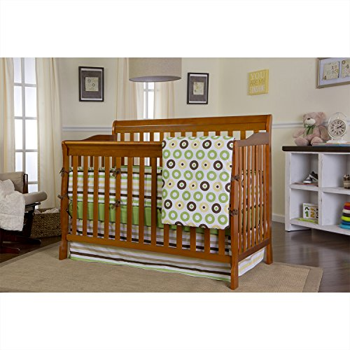 Hot Sale Dream On Me Ashton Convertible 4 in 1 Crib, Pecan