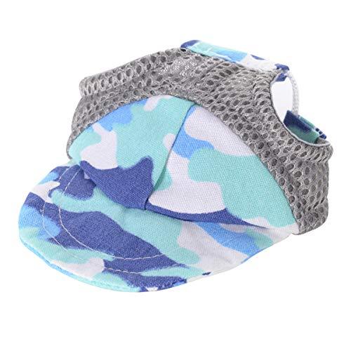 Balacoo Haustier Hund Baseballmütze Sportmütze Hut Outdoor-Hut Sonne UV-Schutz Sommermütze für Kleine Mittelgroße Hunde Welpen Katze M