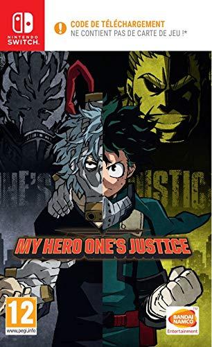 My Hero One's Justice (Code de téléchargement pour Switch dans la boîte - pas de disque)