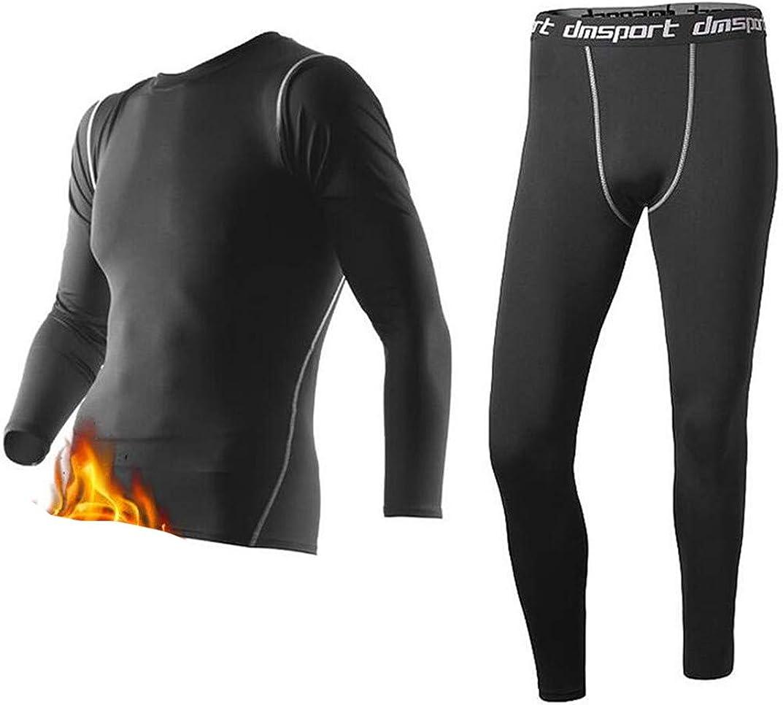 Winter Thermal Underwear,Men Keep Warm Long Johns,Fitness Compression Underwear,Thermo Undershirts Leggings Fleece