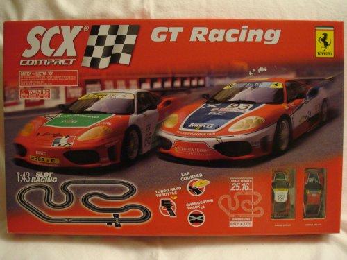 Ferrari SCX Compact GT Racing Vehicle Playset 1:43 Slot Racing