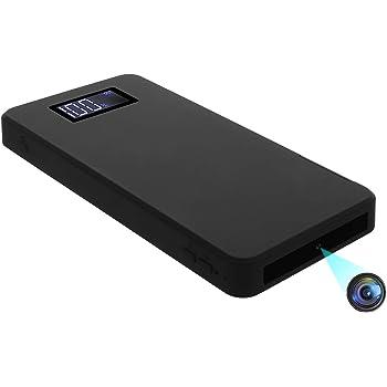 モバイルバッテリー型カメラ 超小型カメラ 1080P高画質監視防犯 ミニビデオカメラ 大容量 10000mAh 32GB内蔵 重力センサー 暗視録画 動体検知 ループ録画 最大サポート256GB バッテリー表示 コンパクトなデザイン 携帯便利 長時間録画 日本語取扱付き