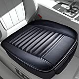 Sunny color 2pc Filling Bamboo Charcoal Edge Wrapping Car Front Seat Cushion Cover Pad Mat for Auto with PU...