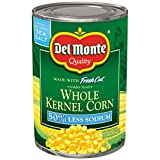 Rich Flavor: The sweet corn is packed with a rich and flavorful taste, working great as a delicious ingredient. You can mix it with pasta and other veggies or add seasonings for an extra flavor kick. Naturally Fresh: Our canned corn is picked at the ...