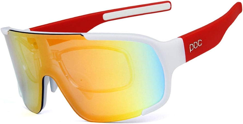 SuoYn Allround-Schutz FüR IHRE Augen. Reiten Sandstrahlbrille Polarisierte Sportbrille UV400-Schutz - Laufen Radfahren Skifahren Snowboarden Rahmendesign für Herren und Damen 6 Farben