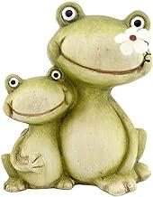 große Glubbschaugen je 20x14x15 cm Schildkröte Garten Deko Ton Figur 1 Stk