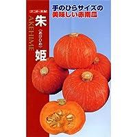 かぼちゃ 種 【 朱姫 (あけひめ) 】 種子 小袋(約7粒)