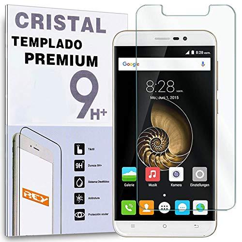 REY Protector de Pantalla para CUBOT Dinosaur/CUBOT Note S Cristal Vidrio Templado...