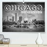 CHICAGO Monochrom (Premium, hochwertiger DIN A2 Wandkalender 2022, Kunstdruck in Hochglanz): Beeindruckende Schwarz-Weiss-Ansichten (Monatskalender, 14 Seiten )