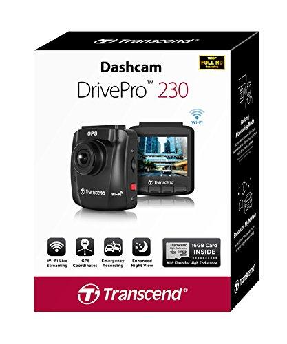 Transcend TS16GDP230M DrivePro 230 Full-HD Autokamera - 5