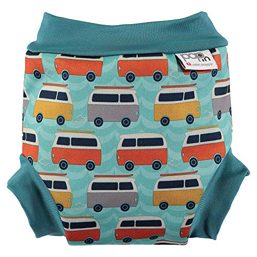Close Pop-in 50117677 Schwimmwindel, Small, Campervan blau