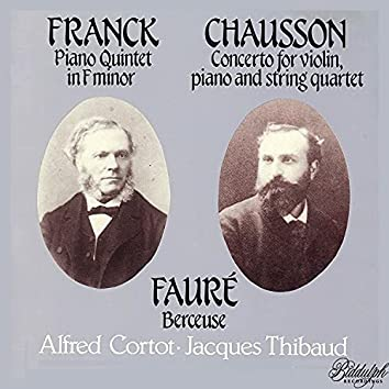 Franck, Chausson & Fauré: Chamber Works