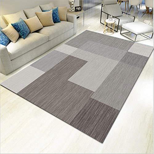 Teppich Vintage - Modern Teppiche für Wohnzimmer, Kurzflor Teppich in/Größe:140x200cm